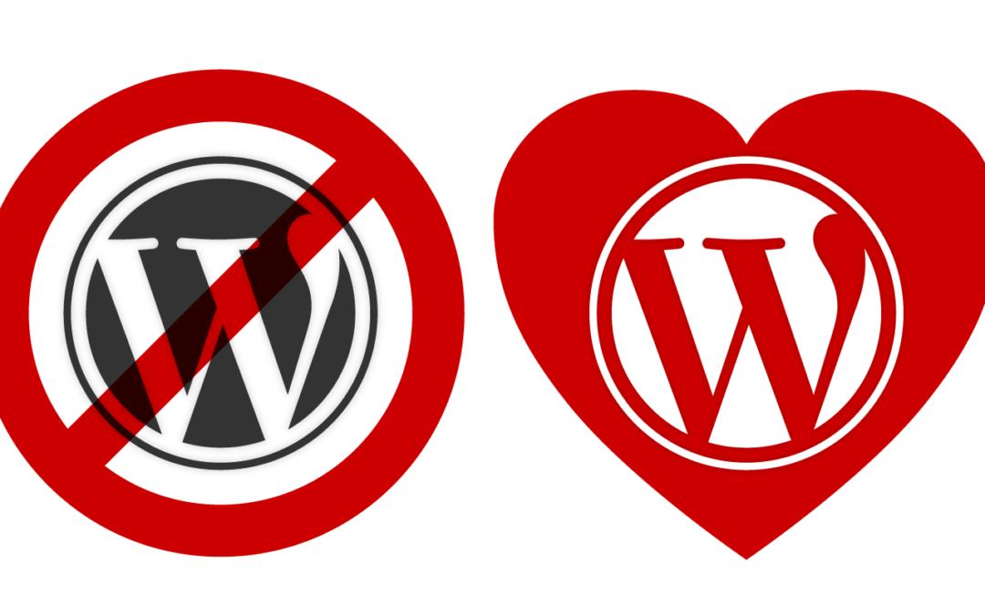 Jó döntés egy WordPress oldal?